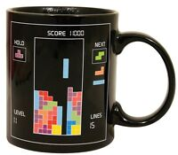 Official 80's Classic Retro Arcade Game Tetris Heat Change Mug Ceramic