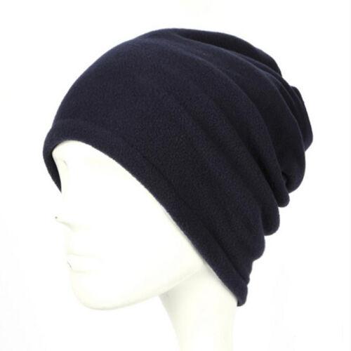 Unisex Fleece Snood Scarf Ski Balaclava Neck Winter Warm Face Scarves Beanie Hat