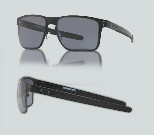 3acd1ac13e7 Authentic Oakley OO 4123 Holbrook Metal 412319 Gunmetal Sunglasses for sale  online