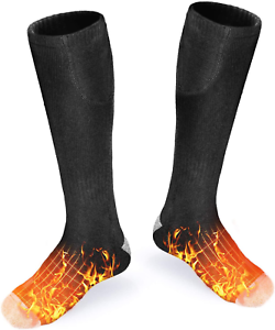 USB Rechargeable Electric Heated Socks Battery heated socks for men and
