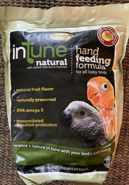 HIGGINS INTUNE HAND FEEDING formula REGULAR BIRDS BABY ...