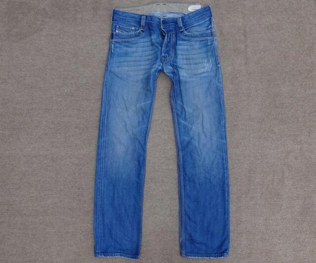 Diesel Mens Safado Regular Slim Straight Leg Jean 0833d