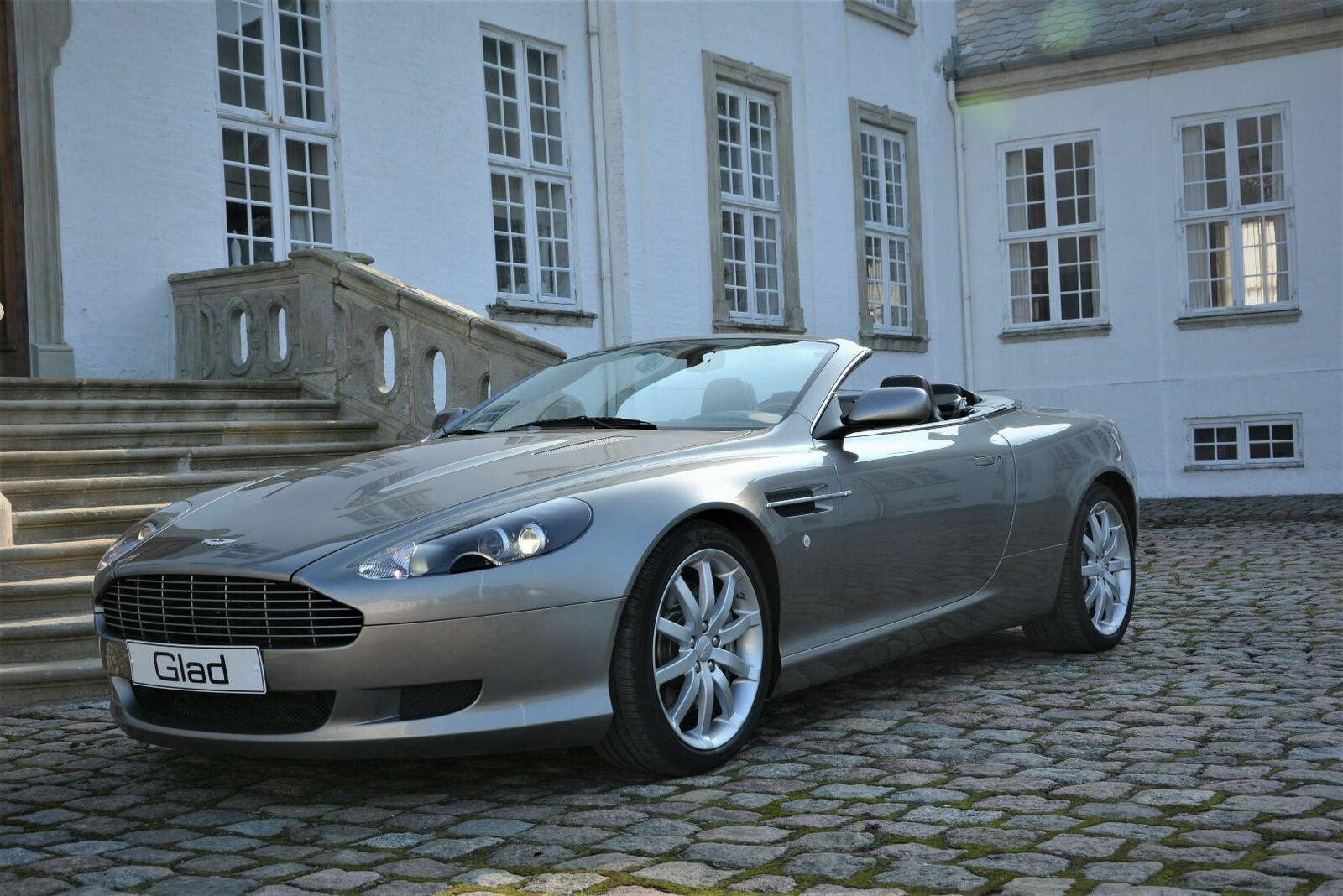 Aston Martin DB9 6,0 Volante aut. 2d - 425.000 kr.
