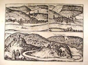 Antique-map-Cel-im-Ham-Berncatel-Nider-Manderscheidt