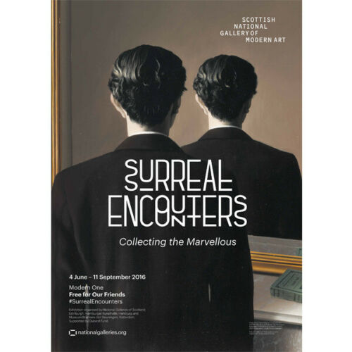 Surreal Encounters Collecting the Marvellous exhibition poster SALE NOW £1