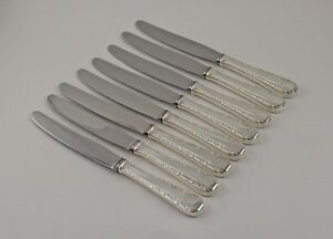 Birks-Rose-Bower-Sterling-Silver-Place-Knives-8-5-8-034-Set-of-8-No-Monograms