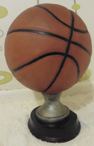 1940 S Original Vintage Basketball Trophy Football stand display