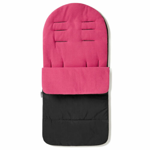 Premium Footmuff Pink Rose Cosy Toes Compatible with Babylo Duo X2