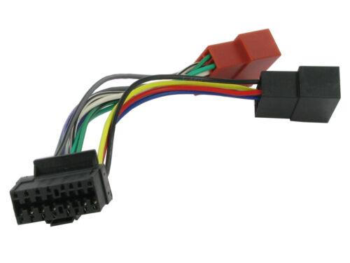 Unidad de cabeza de Repuesto JVC 16 Pin cable de alimentación de KDLX3//10//12 cable adaptador telar