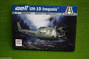 Bell-UH-1D-IROQUOIS-Helicopter-1-48-Scale-Italeri-849