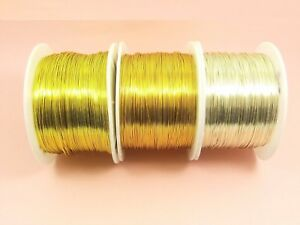 5M-NON-Tarnish-COPPER-Brass-Artistic-Beading-WIRE-for-DIY-Making-0-3-4-5-6-8-1MM