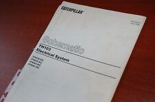 Caterpillar Th103 Telehandler Electrical Schematic Manual Repair Wiring Diagram