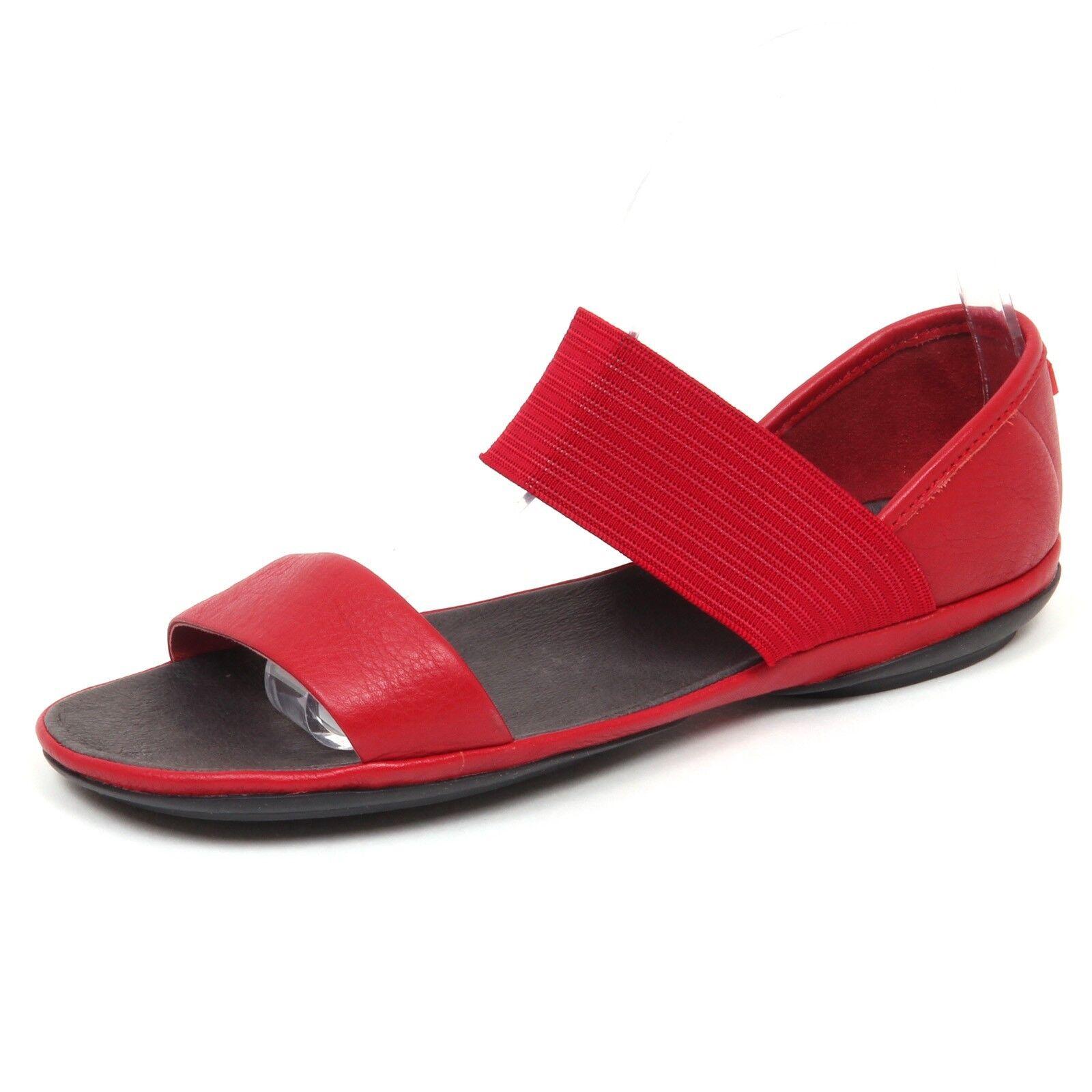 E5800 (utan ask) Sandalo kvinnor röd Camper skor skor Sandal kvinna