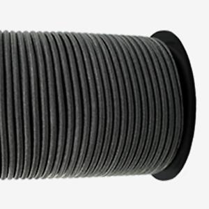 Gummiseile 50m Multiflex Expanderseile ø 3mm schwarz
