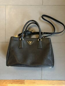 8d5766ae110e Image is loading Prada-Small-Galleria-Saffiano-Lux-Leather-Convertible-Tote-