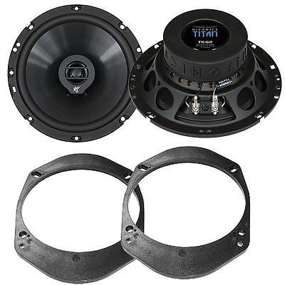 Aufstrebend Hifonics Ts Lautsprecher Set 165mm Boxen Für Ford Tourneo Vordere Türen Lautsprecher