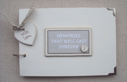 PHOTO ALBUM//SCRAPBOOK//MEMORY BOOK PERSONALISED MEMORIES..A5 SIZE