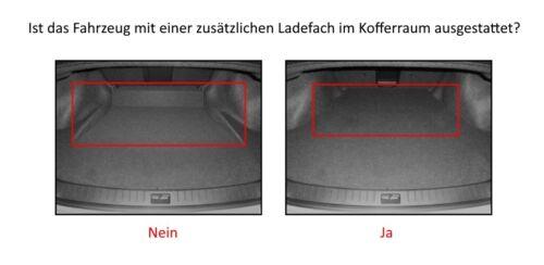 Premium Tapis de baignoire pour audi a3 I 8 L hayon arrière Année de construction 1996-2003