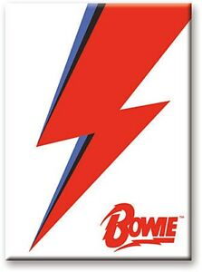 David-Bowie-Red-Flash-licensed-steel-fridge-magnet-nm