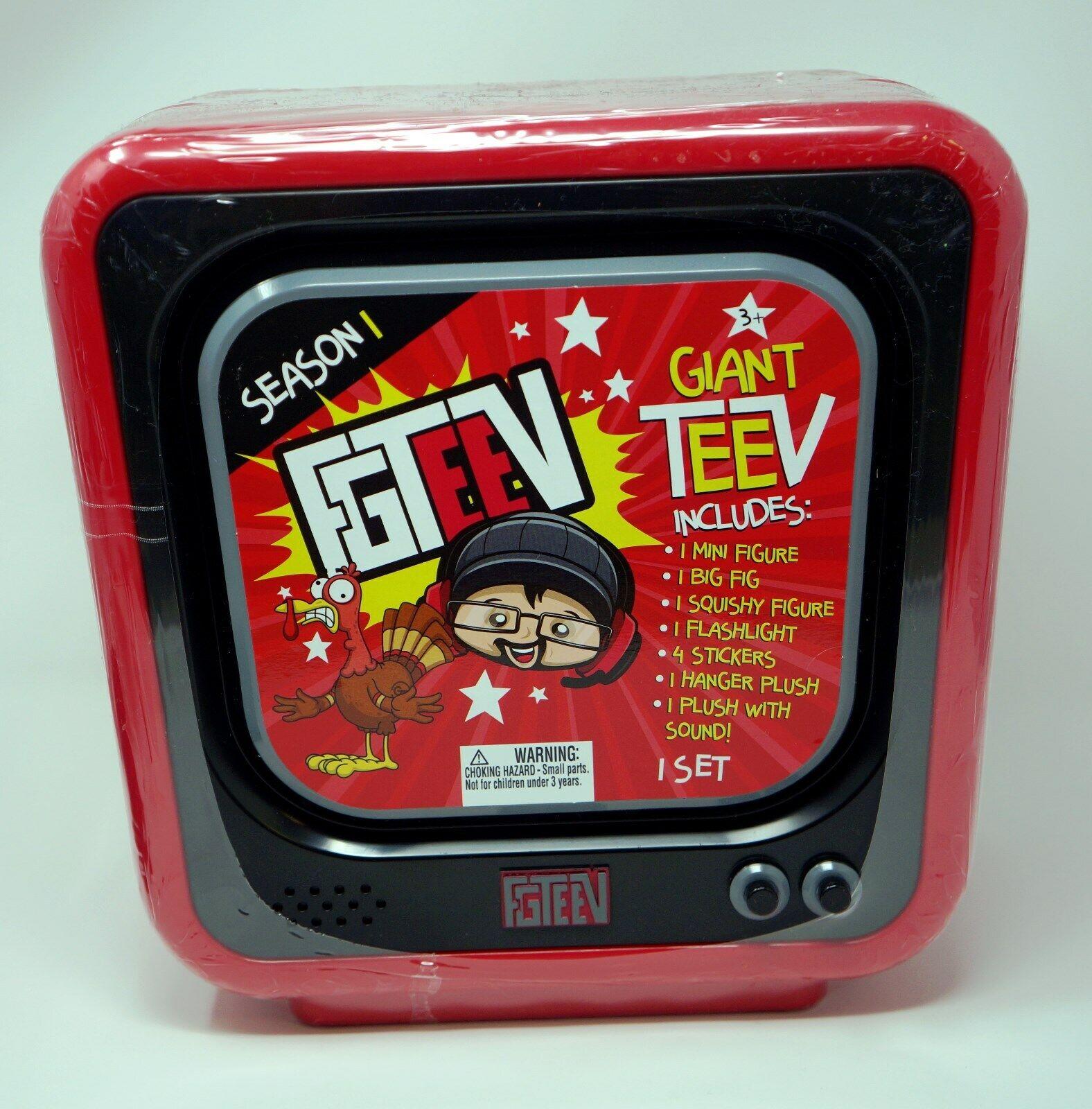 FGTeeV Giant TV Set Giant Blind Pack Multicolor Action Figure Playset Season 1