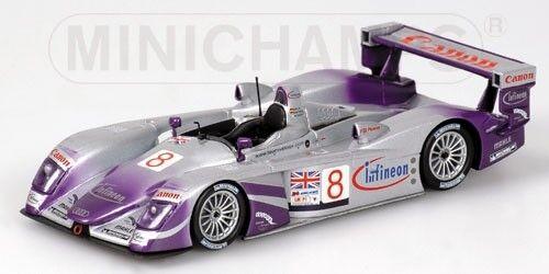 Audi R8 Mcnish Biela Kaffer 24h Le Mans 2004 1 43 Model MINICHAMPS