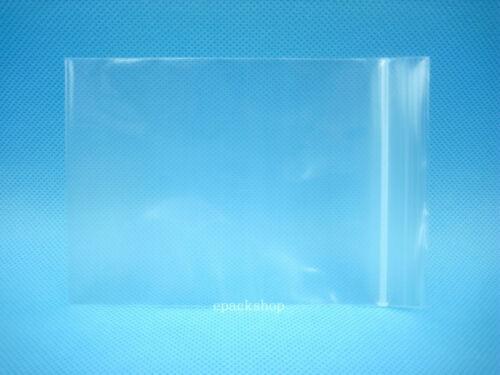 "200 Clear Poly Ziplock Reclosable Zipper Bags 2.4 Mil/_3.5/"" x 5/""/_90 x 130mm"