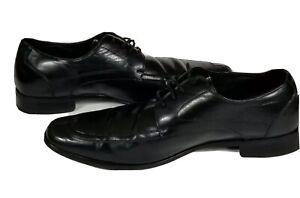 Stacy-Adams-Men-039-s-Black-Leather-Lace-Up-Dress-Formal-Oxfords-Size-9M-Shoes
