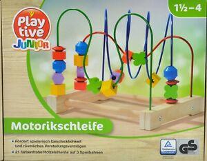 Selecta Spielzeug Kurbelspaß Steck Motorik Kleinkindspiel Kleinkindspielzeug