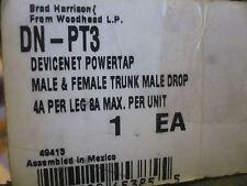 New Brad Harrison Woodhead DN-PT3 Devicenet Powertap