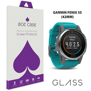 Garmin-Fenix-5S-42mm-Tempered-Glass-Screen-Protector-Shield-9H-Scratch-Proof