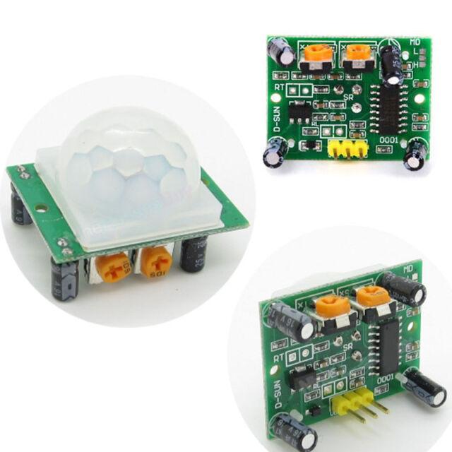 HC-SR501 Adjust IR Pyroelectric Infrared PIR Motion Sensor Detector Module NEW