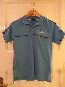 Boy-039-s-blue-lonsdale-polo-shirt-age-13yrs