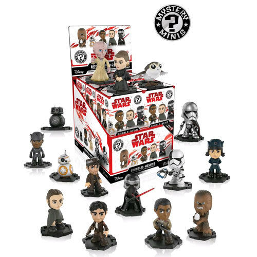 Star Wars Episode VIII Last Jedi Mystery Minis GS US Exclusive Blind Box Set 12