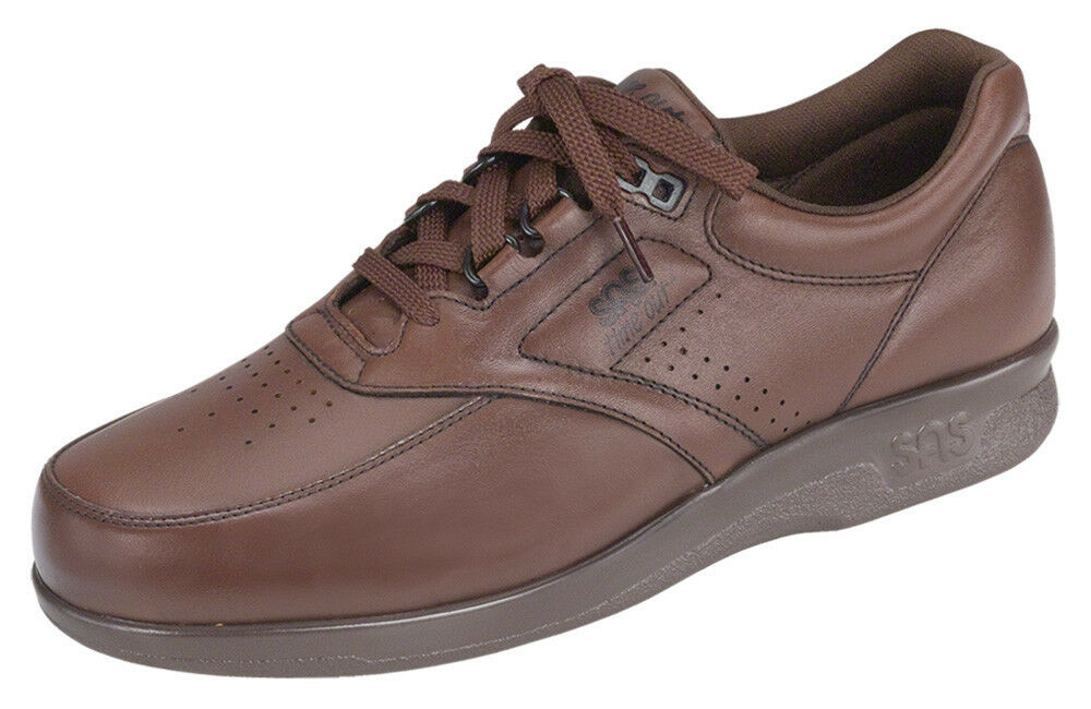 SAS MEN'S TIME OUT WALKING COMFORT LACE SHOE ARCH SUPPORT, MADE IN USA