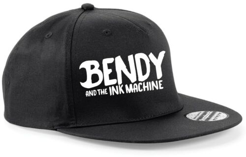 SNAPBACK Hat CAP BENDY AND THE INK MACHINE youtube Adjustable 7 Colours game