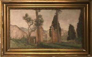 Hans-Dall-1862-1920-ITALIAN-LANDSCAPE