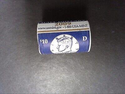 BU Roll 2001 D Kennedy Half Dollar Roll Original Mint Wrapped