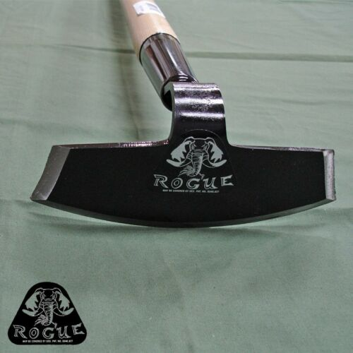 Draw Hoe 7 inch by Rogue Hoes USA Professional Grade Smallholding Allotment