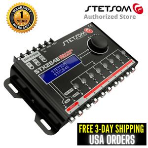 Stetsom Digital Audio Processor Equalizer STX2848 Sequencer - 3 Day Delivery