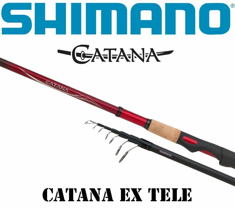Shimano Catana EX Telescopic spinning, SCATEXTE
