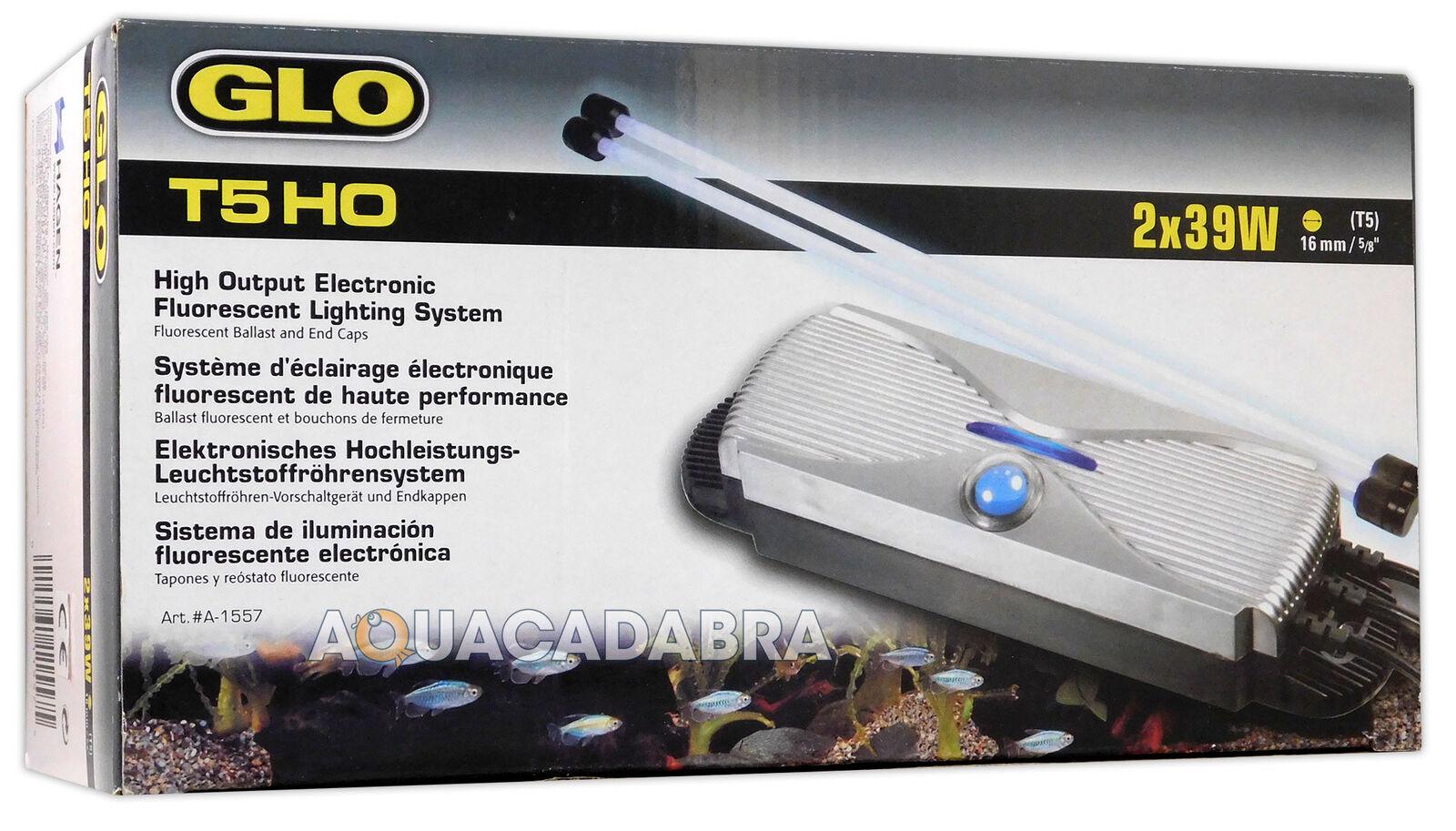 Hagen GLO TWIN STARTER T5 HO elettronico della luce luce luce CONTROLLER ACQUARIO Unità di Luce fe426b