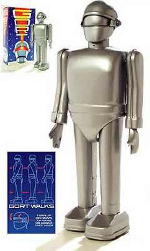 The Day The Earth Stood Still GORT 9 Tin giocattolo WindUp Robot
