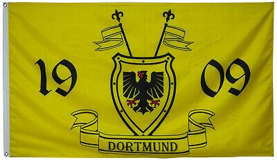 Borussia Dortmund 1909 Football Flag Banner 3x5feet Ebay