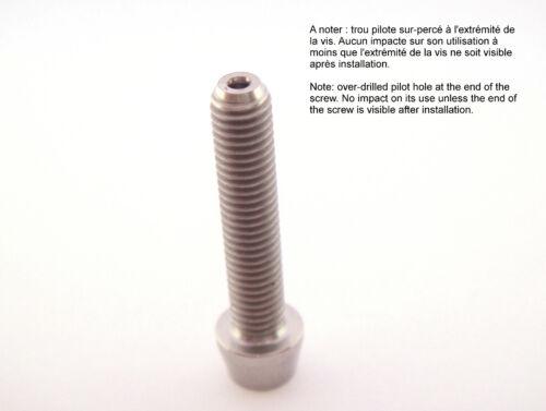 Vis titane tête conique M5 x 25mm Torx T25 Ti 6Al-4V Ti screw taper head