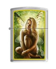 Zippo 5061 Mazzi-Woman & Butterfly Wings Brushed Chrome Lighter