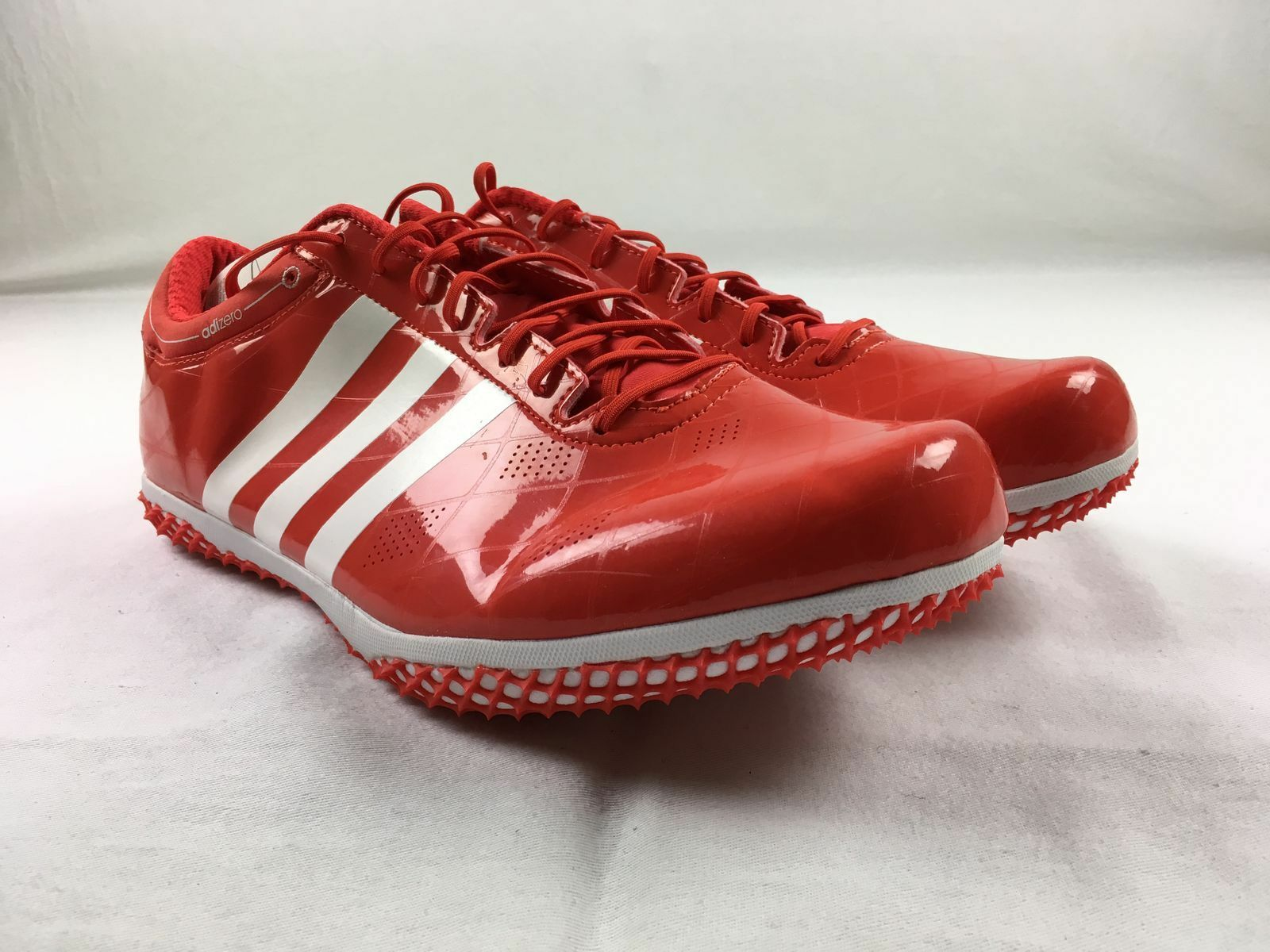 NEW adidas adizero HJ FL - Red Cleats (Men's Multiple Sizes)