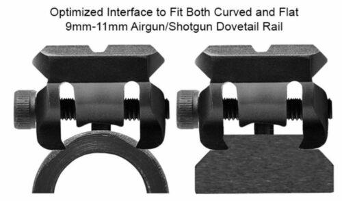 Leapers UTG 9-11mm a coda di rondine per Picatinny//Weaver a sbalzo Adattatore Come nuovo o in perfette condizioni-DTW145