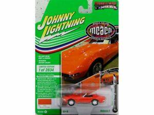 CHEVROLET Corvette ZL1 - 1969 - monaco orange - Johnny Lightning 1:64