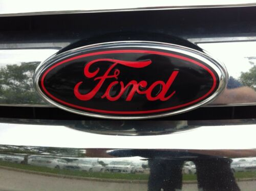 NON-ST Oval emblem STICKER OVERLAYS Fits 12 13 14 FORD FOCUS