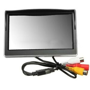"New 5"" 800*480 TFT LCD HD Screen Monitor for Car Rear Rearview Backup Camera T9"